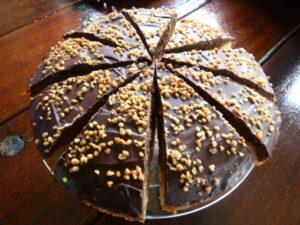 Eigengemaakte taart camping Vorrelveen