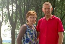 Bianca v.d Berg en John Teuben camping Vorrelveen Beilen